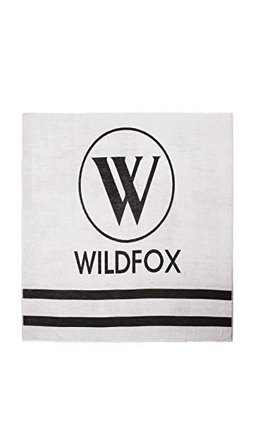 Wildfox Best Friend Double Towel