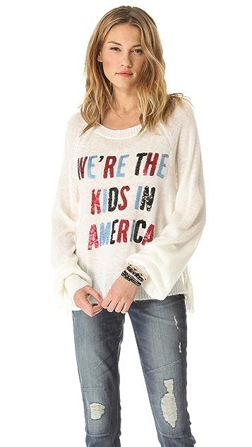 Wildfox American Kids Sweater