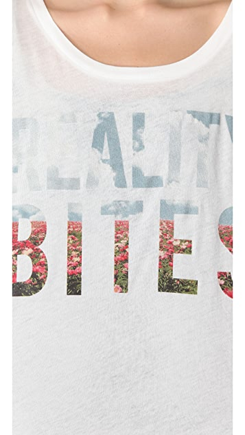 Wildfox Reality Bites Boy Tee