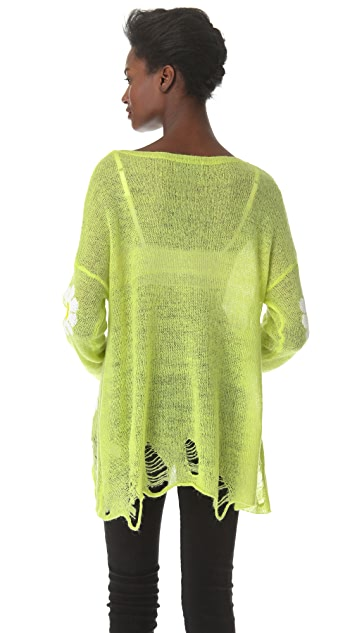 Wildfox Daisy Fest Sweater