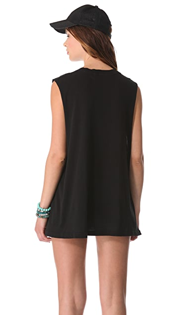 Wildfox No Skinny Dipping Muscle Tank