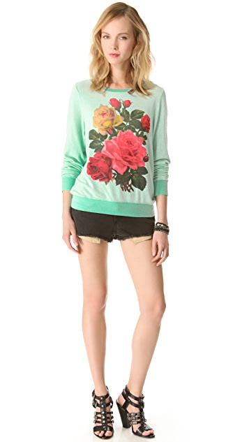 Wildfox Barrymore Baggy Beach Sweatshirt