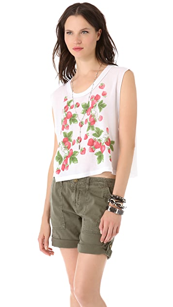 Wildfox Strawberries Tank