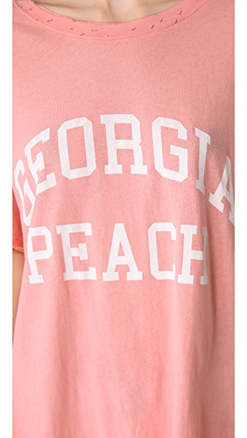 Wildfox Georgia Peach Tee