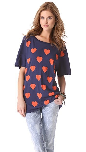 Wildfox Falling in Love Tee