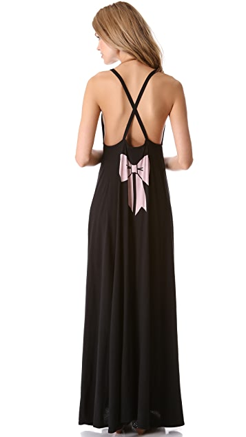 Wildfox Pink Bow Marilyn Dress