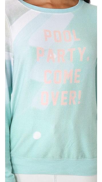 Wildfox Pool Party Baggy Beach Sweatshirt