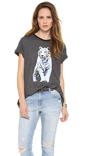 Wildfox Shine Bright Tiger Tee