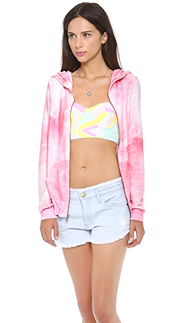 Wildfox Take Me to the Circus Track Jacket