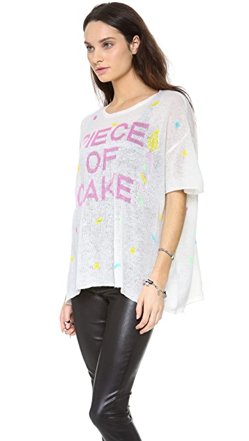Wildfox Piece of Cake Sweater