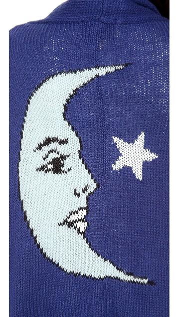 Wildfox Moon & Star Cardigan