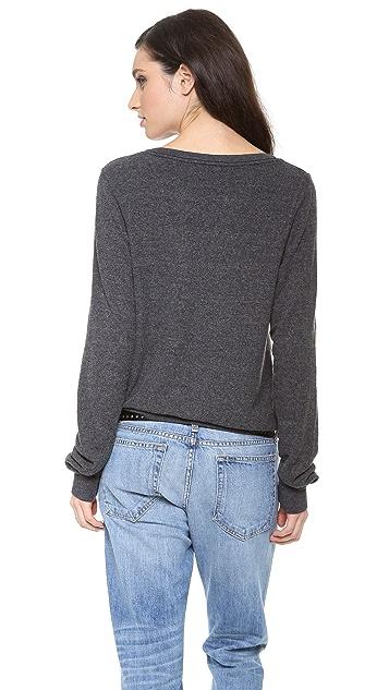 Wildfox Made In Heaven Baggy Beach Sweatshirt