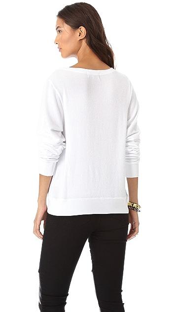 Wildfox Love Junkie Baggy Beach Sweatshirt