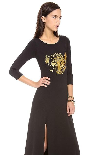 Wildfox Party Cheetah Maxi Dress
