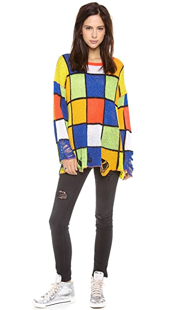 Wildfox All Figured Out Sweater