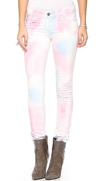 Wildfox Marianne Velvet Skinny Pants