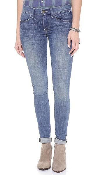 Wildfox Pamela Mid Rise Cigarette Jeans