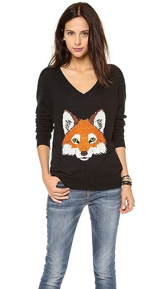 Wildfox Fox Trot Sweater