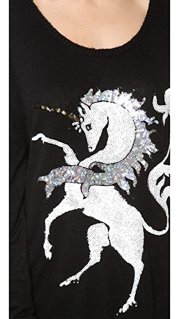 Wildfox Unicorn Sweater