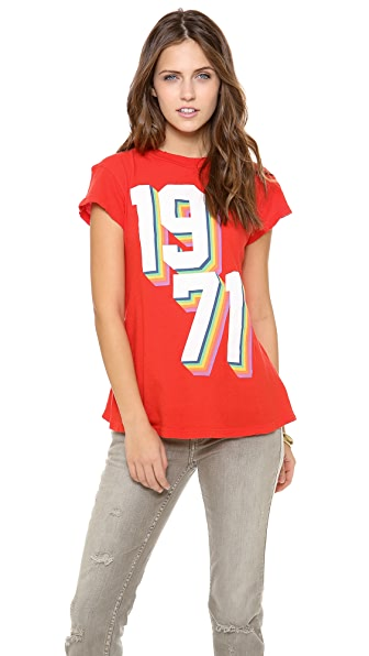 Wildfox Rainbow '71 Tee