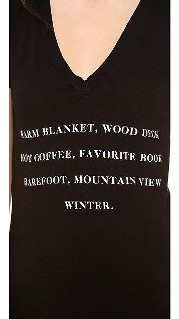 Wildfox Winter List Tee