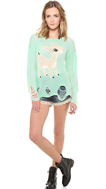 Wildfox Little Helper Sweater