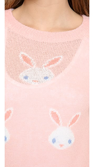 Wildfox Snow Bunny Sweater