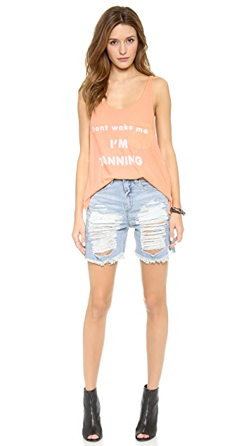 Wildfox Don't Wake Me Tank