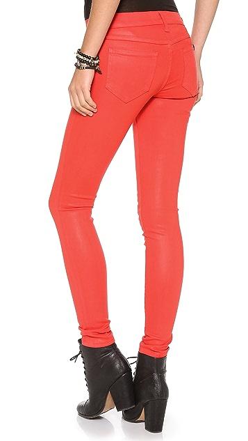 Wildfox Marianne Coated Skinny Jeans