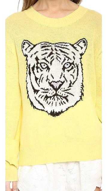 Wildfox White Tiger Sweater