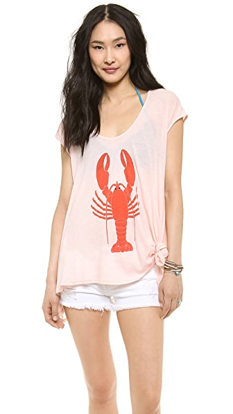 Wildfox Lobster Tulum Tunic