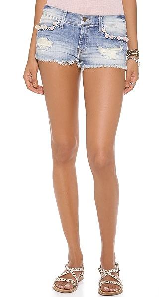 Wildfox Lara Mid Rise Cutoff Shorts