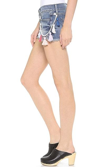 Wildfox Ruby Mid Rise Cutoff Shorts