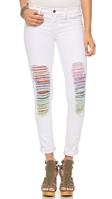 Wildfox Marianne Mid Rise Skinny Jeans