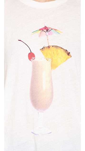 Wildfox Island Breakfast Tee