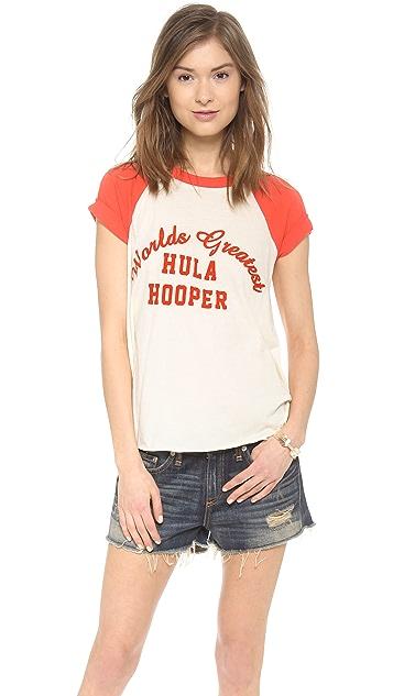 Wildfox Hula Hooper Raglan Tee