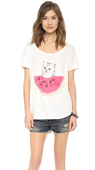 Wildfox Watermelon Thief T-Shirt