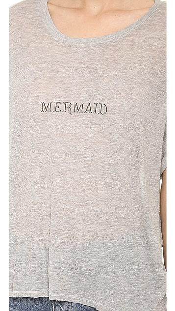 Wildfox Tiny Mermaid Boy Tee