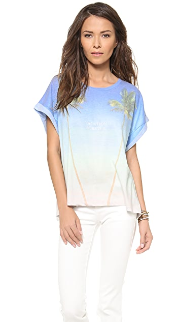 Wildfox Vacation Forever Boy Tee