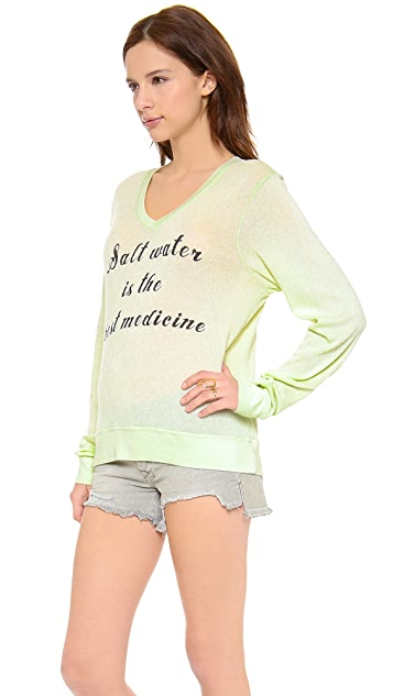 Wildfox Salt Water Baggy Beach Sweater