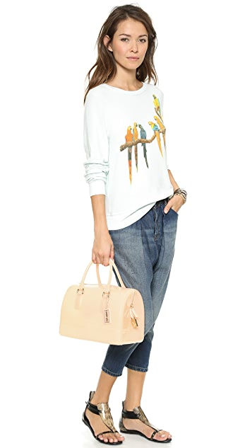 Wildfox Birds in Paradise Baggy Beach Jumper