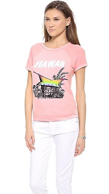 Wildfox Hawaiian Rainbow Tee
