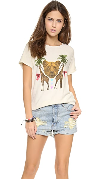 Wildfox Animal Kingdom Top