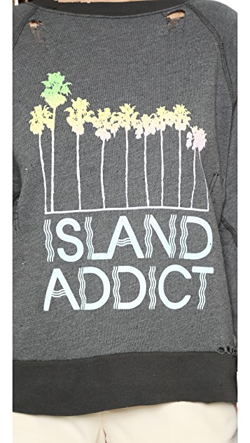 Wildfox Island Addict Sweater