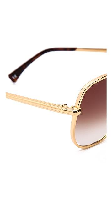 Wildfox Airfox Aviator Sunglasses