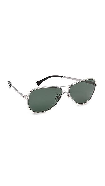 Wildfox Airfox Aviator Polarized Sunglasses
