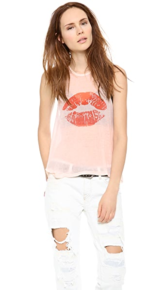 Wildfox Kiss Me Tank