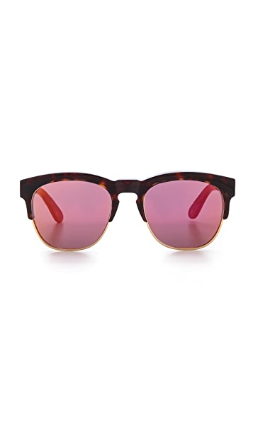 Wildfox Club Fox Deluxe Sunglasses