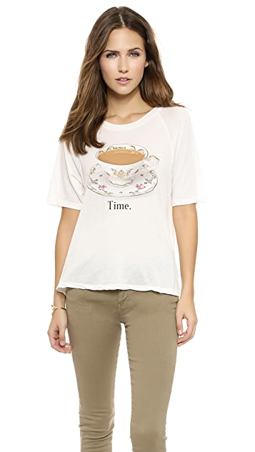 Wildfox Tea Time Tee