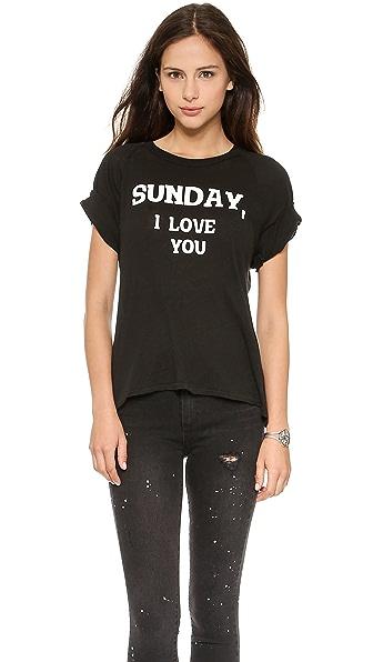 Wildfox Dear Sunday Tee